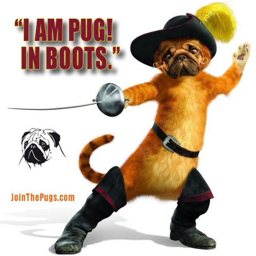 Pug in Boots - Wendy D.