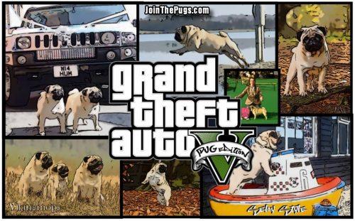 Grand Theft Auto V Pug Edition